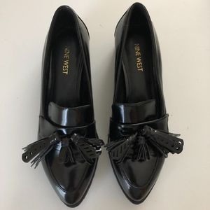 Nine West Black Penny Loafers